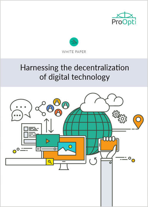 Harnessing the decentralization of digital technology